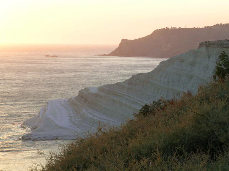 The rocky cliff of Scala dei Turchi