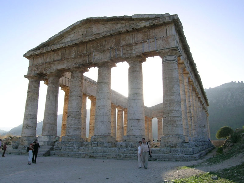 The Doric Temple of Segesta