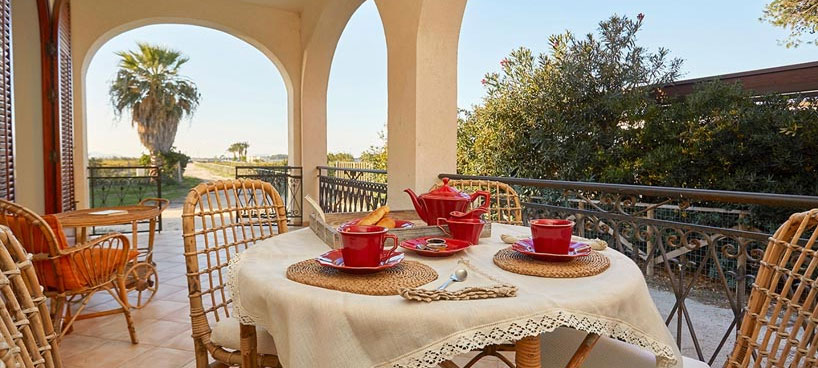 Mediterranean style Villa Casa Mozia by the sea