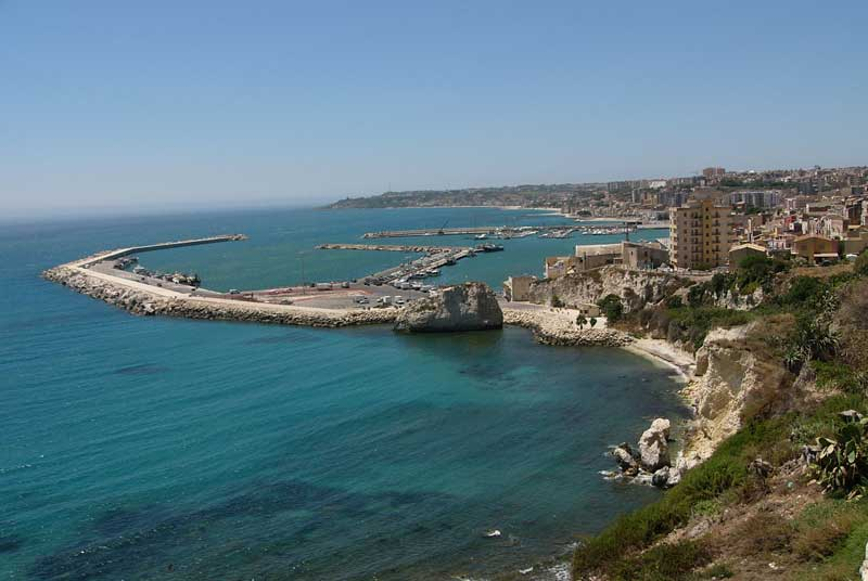 The view of Sciacca from above