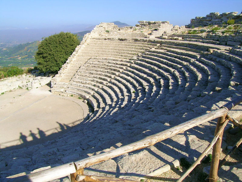 The Ancient Greek Theatre of Segesta