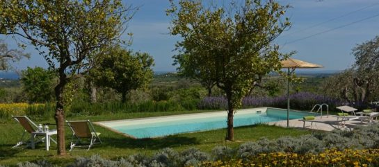Villa Flora with private pool and a stunning view