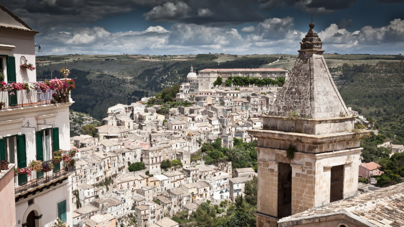 View over Ragusa Ibla