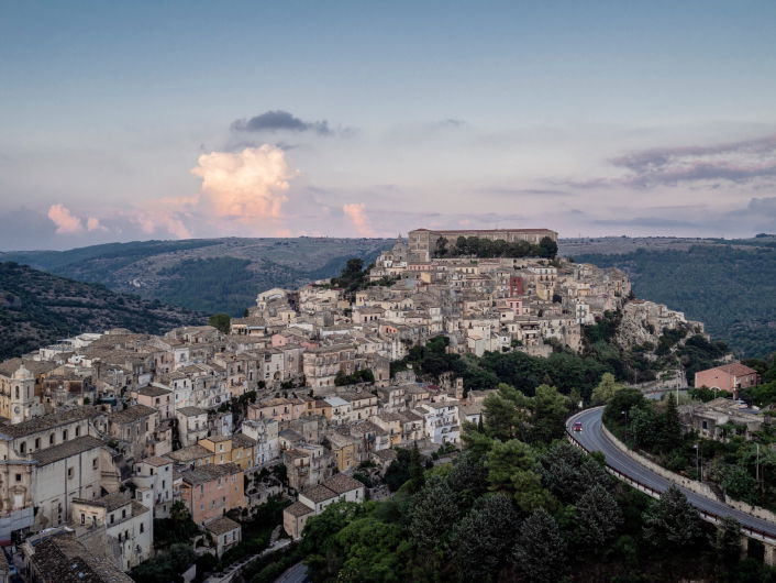View of Ragusa from above