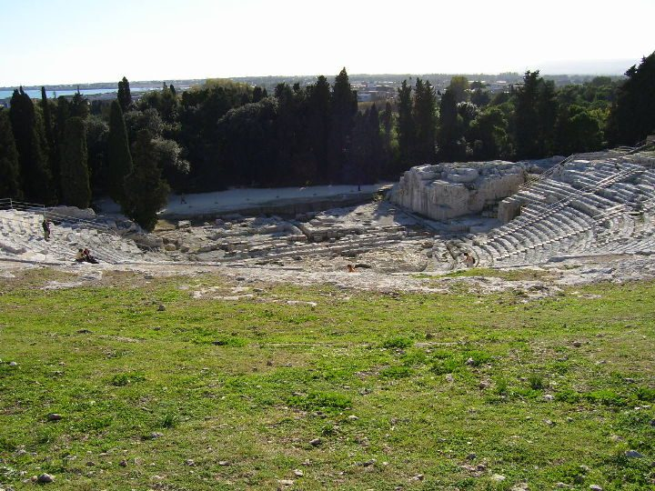 The Greek Theatre of Syracuse