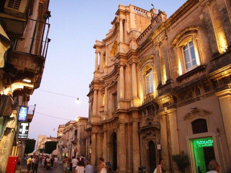 Corso Vittorio Emanuele in Noto, Sicily