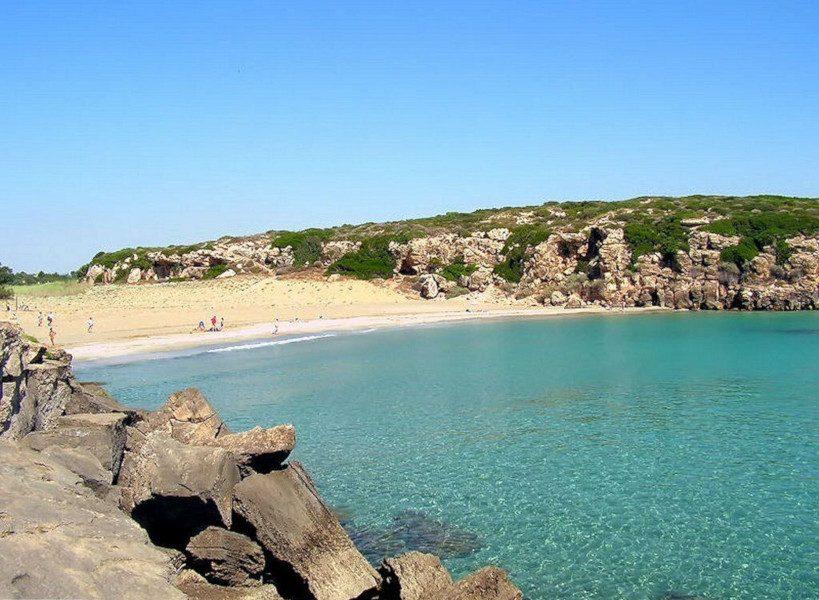 The Calamosche Beach