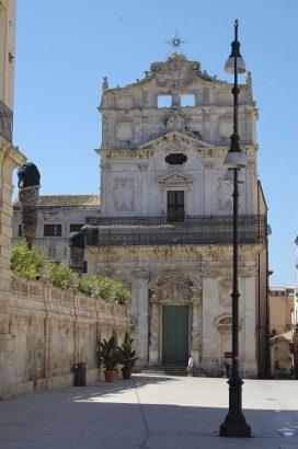 The church of Santa Lucia Alla Badia