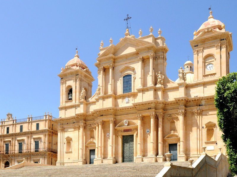 The Cathedral of Noto